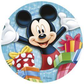 6 Discos Comestibles de Mickey Mouse & CO 20 cm