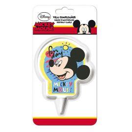 Velas de Aniversário Mickey Mouse 2D