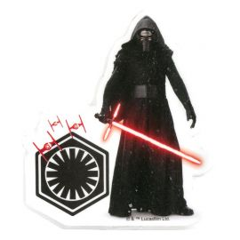 12 Velas Star Wars 7,5 cm 2D