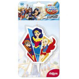 Velas Super Girls 7,5 cm 2D