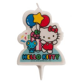 Velas 2D Hello Kitty
