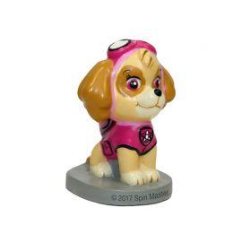 6 Velas 3D Skye Patrulha Canina 7 cm
