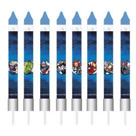 Velas forma Palito The Avengers 9 cm