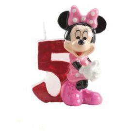 Velas Nº 5 Minnie Mouse 6,5 cm