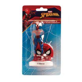 Velas Aniversário Spiderman 9 cm 3D