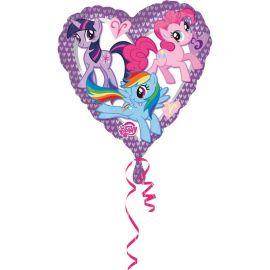 Balão Me Little Pone Forma Coração Papel