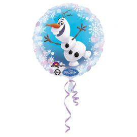 Balão Frozen Olaf Papel Redondo