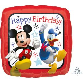 Balão Mickey MouseHappy Birthday Foil