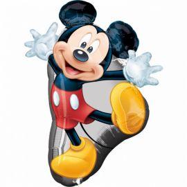 Balão em Forma de Mickey Mouse 55 cm x 78 cm