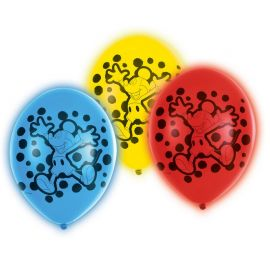 5 Balões Mickey Mouse de Led