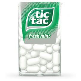 Doces Tic Tac de Menta 12 packs