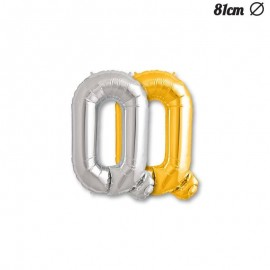 Balão Letra Q Foil 81 cm