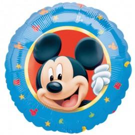 Balão Mickey Mouse Foil Redondo