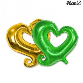 Balão Foil Forma Coração 46 cm