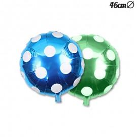 Balão Redondo Bolinhas Foil 46 cm