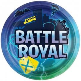 8 Pratos Battle Royal 22.8 cm