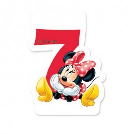 Vela nº7 Minnie Mouse
