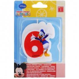Vela nº6 Mickey Mouse