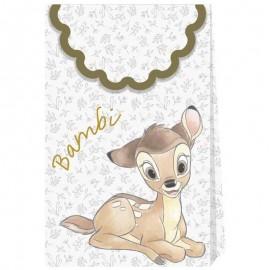 6 Bolsas Bambi de Papel