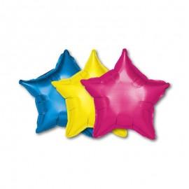 Globo forma Estrella Foil 46 cm