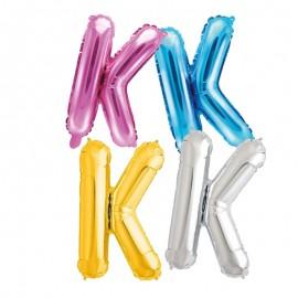 Balão Letra K 35 cm