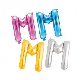 Balão Letra M 35 cm