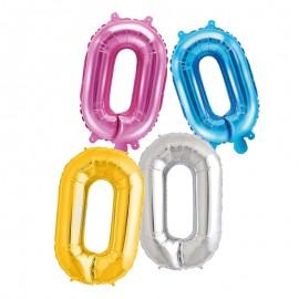 Balão Letra O 35 cm