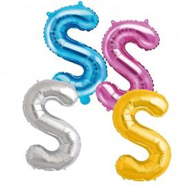 Balão Letra S 35 cm