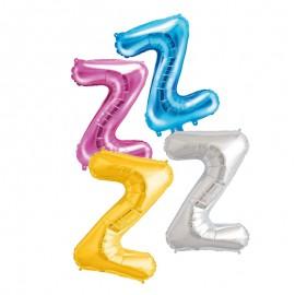 Balão Letra Z 35 cm