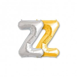Balão Letra Z Foil 81 cm