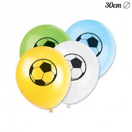 8 Balões Futebol 30 cm