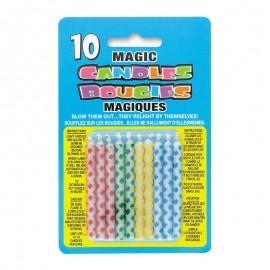 10 Velas Mágicas com Diamantes