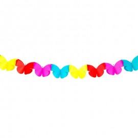 Guirnalda Mariposas 2 metros