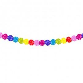 Grinalda Flores Multicolor 2 metros