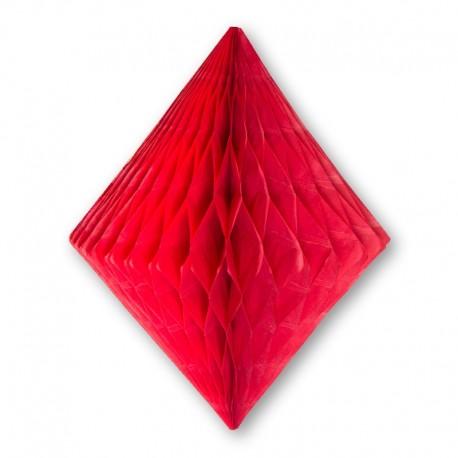 Lanternas forma Diamante 20 cm