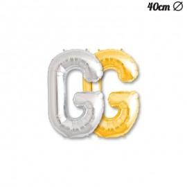 Letra Globo G 40 cm