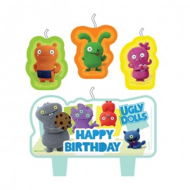 4 Velas Ugly Dolls