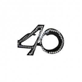 Óculos com Número 40