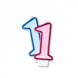 Vela Aniversário nº1
