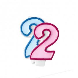 Vela Aniversário nº2