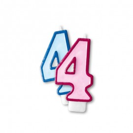 Vela Aniversário nº4