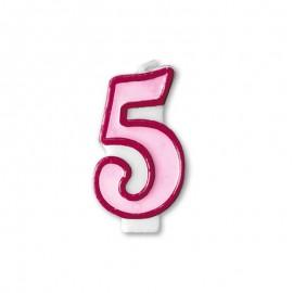 Vela Cumpleaños nº5