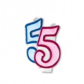 Vela Aniversário nº5