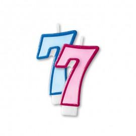 Vela Aniversário nº7