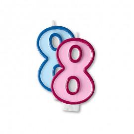 Vela Cumpleaños nº8