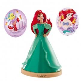 Kit Con Pinchos Princesa Ariel Para Tartas