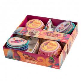 Kit Decoração Cupcake Trolls