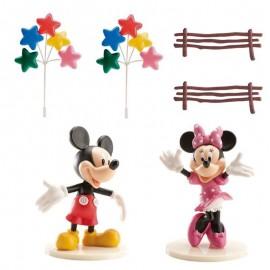 Kit Decoração Mickey & Minnie para Pastel