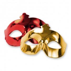 Máscara para Festas Metalizadas