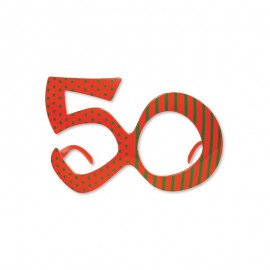Óculos para Aniversário Número 50